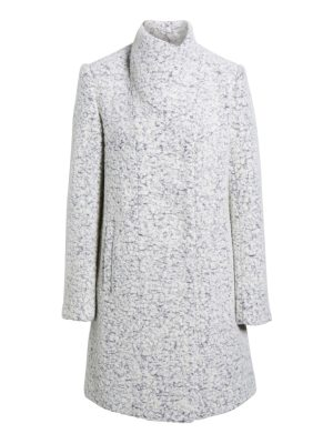 Kenneth Cole pressed boucle coat