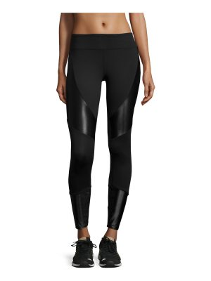KORAL ACTIVEWEAR Forge Contrast-Panel Sport Leggings