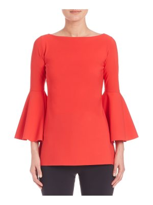 Chiara Boni La Petite Robe natty bell-sleeve top