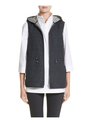 Lafayette 148 New York ginny reversible hooded vest