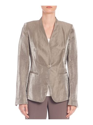 Lafayette 148 New York Luminescent Linen Clary Jacket