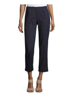 Lafayette 148 New York Straight-Leg Cropped Pants