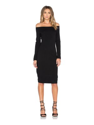 L'AGENCE Daphne Off Shoulder Dress