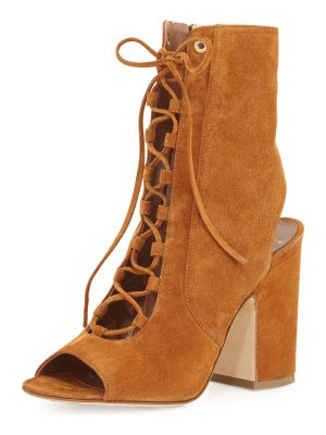 Laurence Dacade Nelly Suede Lace-Up Bootie