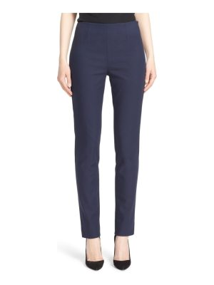 Lela Rose catherine stretch twill ankle pants