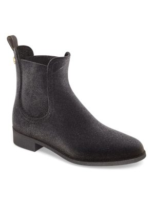 LEMON JELLY velvety waterproof chelsea bootie