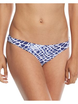 Letarte Printed Hipster Moderate Coverage Swim Bikini Bottom