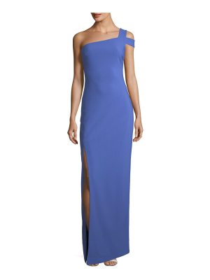 LIKELY Maxson One-Shoulder Column Evening Gown