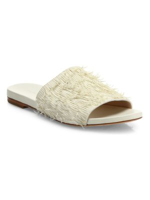 Loeffler Randall ava leather slide sandals