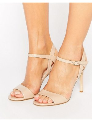 London Rebel Barely There Heeled Sandal