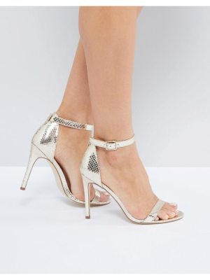 London Rebel Barely There Heel Sandal