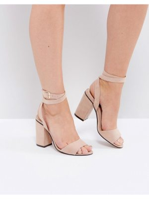 London Rebel High Block Heel Sandal