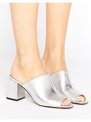 London Rebel Kitten heel Mule