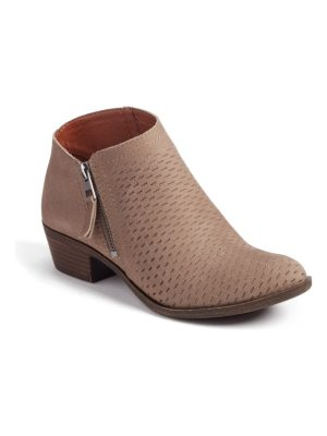Lucky Brand brielley perforated bootie
