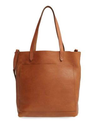 Madewell medium leather transport tote