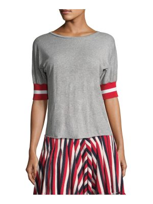 Maggie Marilyn sunkissed striped t-shirt