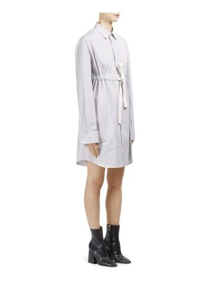Maison Margiela cotton poplin striped dress