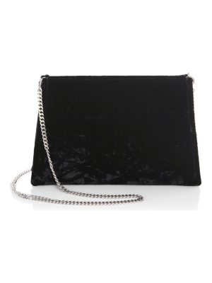 Maison Margiela velvet shoulder bag