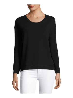 Majestic Paris for Neiman Marcus Soft-Touch French Terry Sweatshirt
