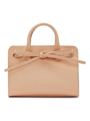 Mansur Gavriel Leather Mini Mini Sun Tote