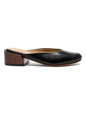 MARI GIUDICELLI Leather Leblon Mules