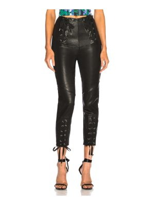 Marissa Webb Nilda Leather Lace Up Pant