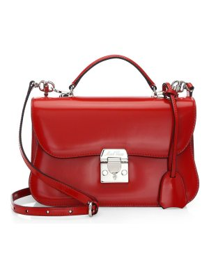 Mark Cross elegant leather crossbody bag