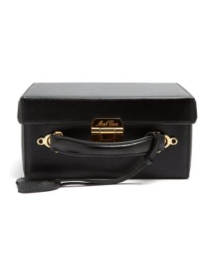 Mark Cross Grace large pebble-leather box bag