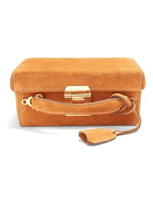 Mark Cross Grace small suede box bag