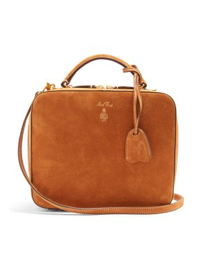 Mark Cross Laura suede shoulder bag