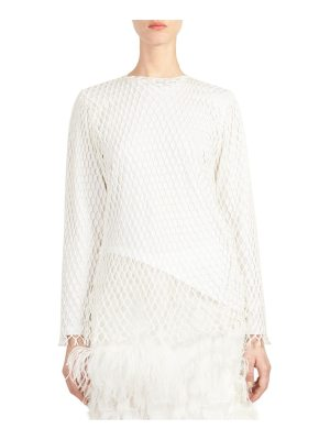 Marques Almeida jersey long-sleeve cotton top