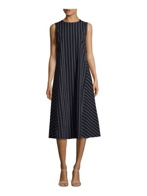 Max Mara extra striped cotton dress
