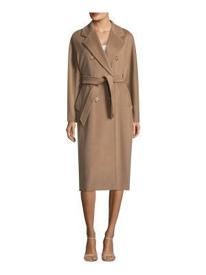 Max Mara madame double-breasted coat