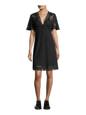 McQ by Alexander McQueen floral lace dress