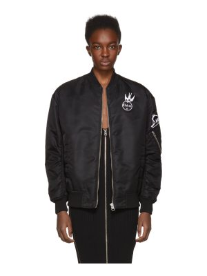 McQ by Alexander McQueen Patches Ma-1 Bomber Jacket