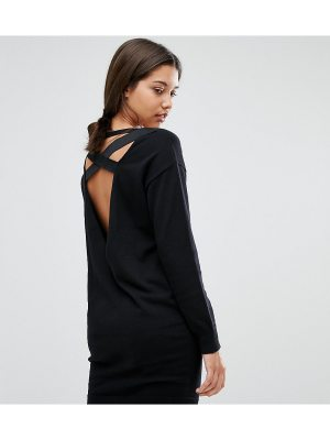 Micha Lounge Elastic Strap Sweater Dress