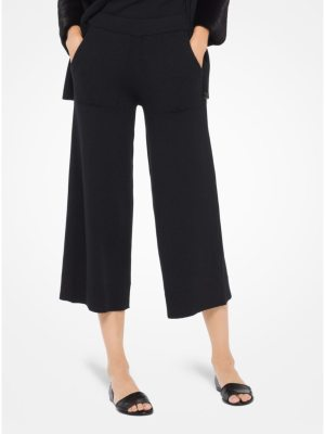 Michael Kors Collection Cashmere-Blend Gaucho Pants