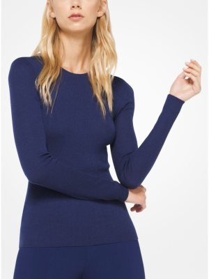 Michael Kors Collection Featherweight Cashmere Pullover