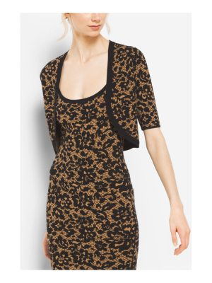 Michael Kors Collection Floral Stretch-Viscose Shrug