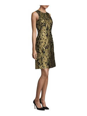 Michael Kors Collection iris jacquard dress