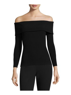 Michael Kors Collection off-the-shoulder top