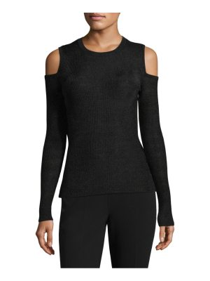 Michael Kors Collection ribbed cold-shoulder sweater