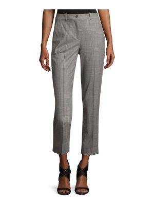 Michael Kors Collection Sam Cropped Stretch-Wool Pants