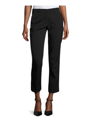 Michael Kors Collection Samantha Cropped Straight-Leg Pants