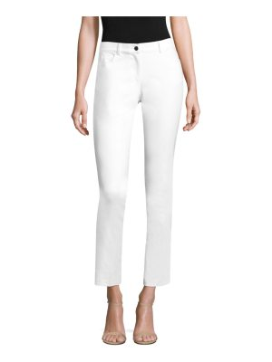 Michael Kors Collection samantha stretch cotton pants