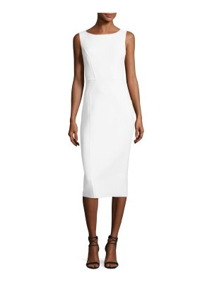 Michael Kors Collection Scoop-Neck Sleeveless Sheath Dress
