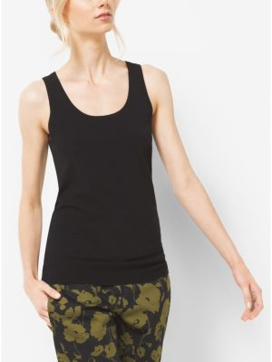 Michael Kors Collection Stretch-Viscose Tank