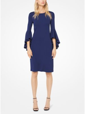 Michael Kors Collection Stretch Matte-Jersey Dress