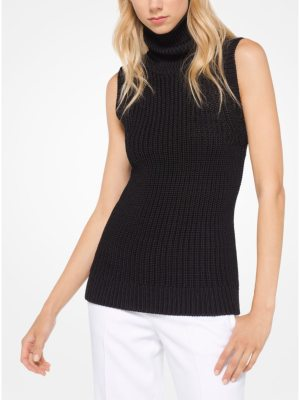 Michael Kors Collection Stretch-Viscose Pullover