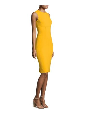 Michael Kors Collection stretch sleeveless wool dress